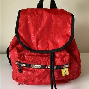 LeSportSac x Peanuts Snoopy Mini Backpack